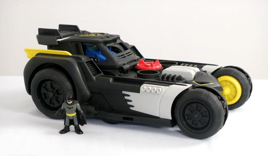 Fisher-Price Imaginext DC Super Friends Transforming Batmobile RC