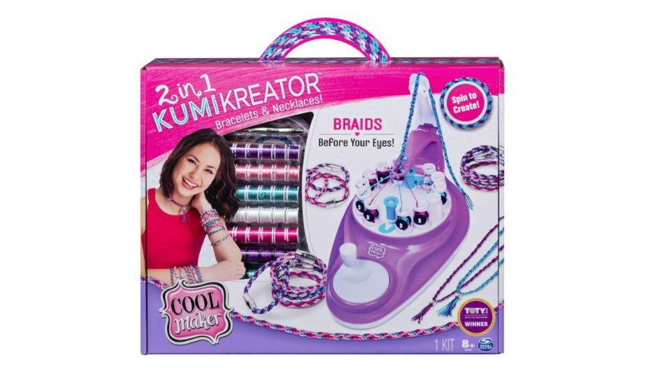 2-in-1 Kumikreator Bracelets & Necklaces Kit — Spin Master