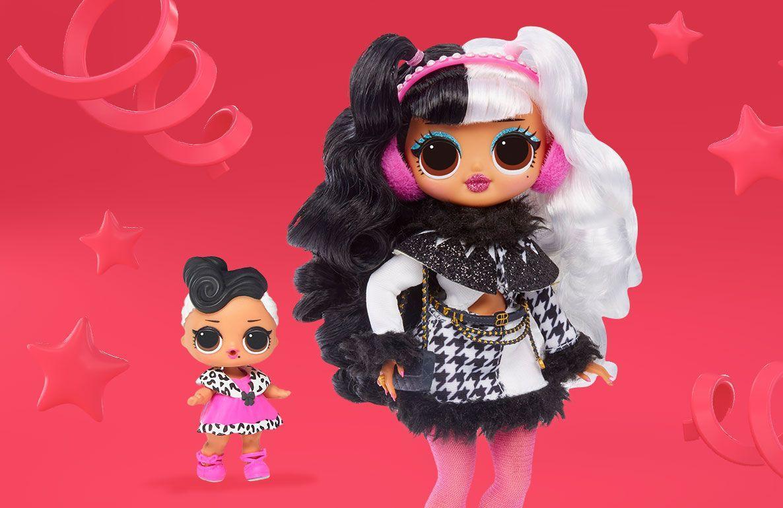 L O L Surprise O M G Winter Disco Fashion Dolls Toys R Us