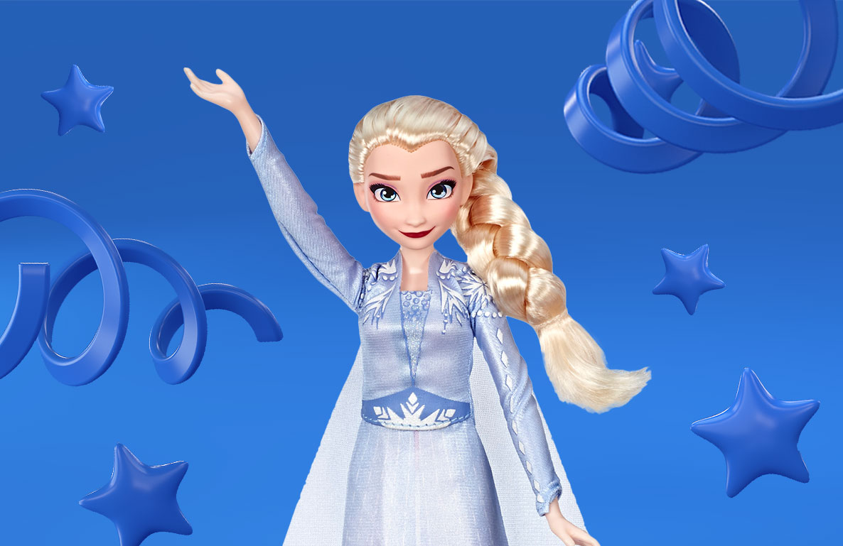 Disney Frozen 2 Singing Elsa Fashion Doll