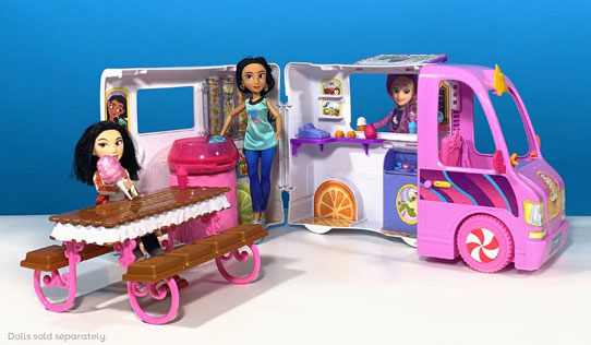Disney Princess Comfy Squad Sweet Treats Truck toy review