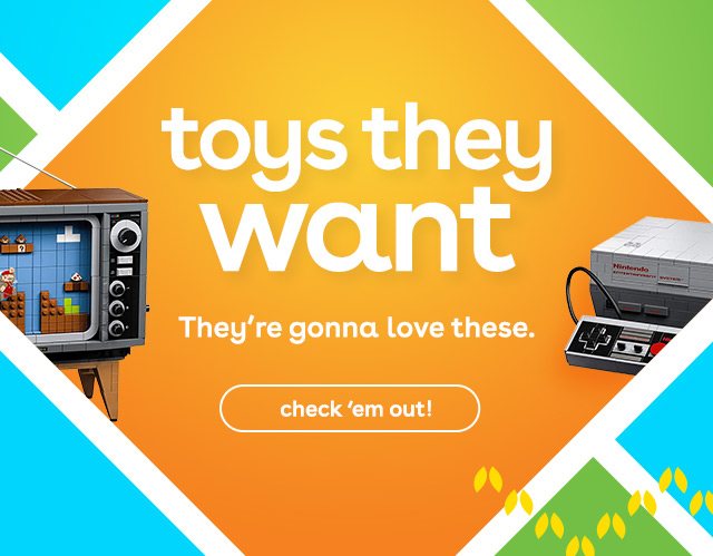 Toys They Want at Toys R Us