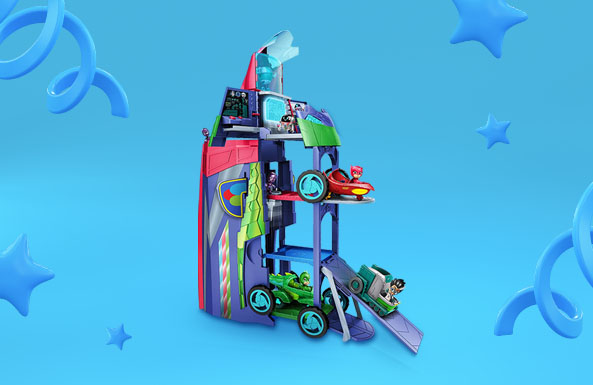 PJ Masks 2-in-1 Mobile Headquarters Playset