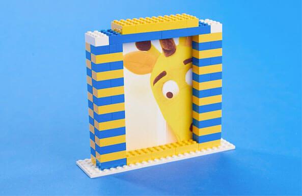 LEGO photo frame