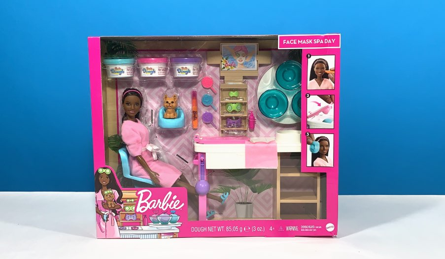 Barbie Face Mask Spa Day Review