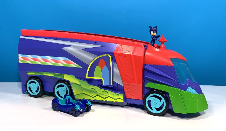 PJ Masks Transforming 2 in 1 Mobile HQ Review