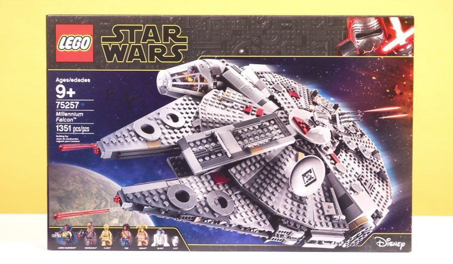 LEGO Star Wars: The Rise of Skywalker Millennium Falcon Review