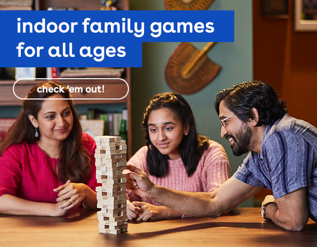 indoor family game night - board games, card games and more - Toys R Us