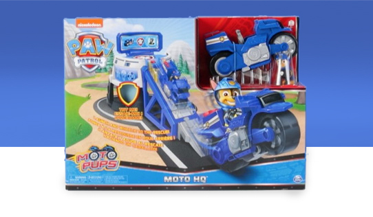 PAW Patrol Moto Pups Moto HQ Toy Review