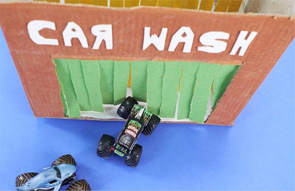 Monster Jam car wash