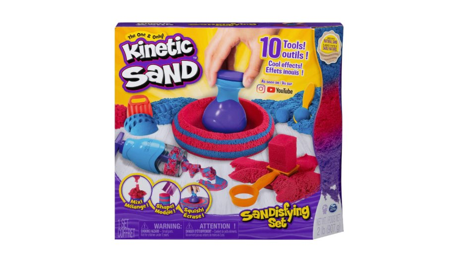 Kinetic Sand Sandisfying Set — Spin Master