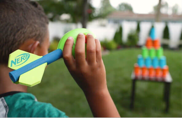 NERF obstacle course