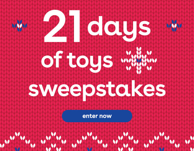 21 days of sweepstakes at Toys R Us