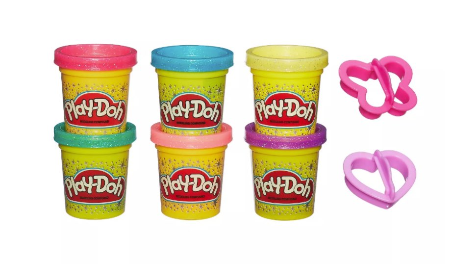 Play-Doh Sparkle Compound Collection — Hasbro