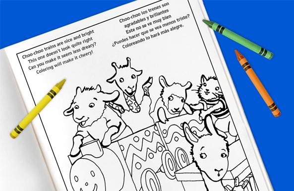 Llama Llama activity pack free printable for kids