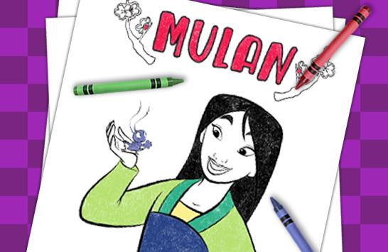 Disney Princess coloring sheets