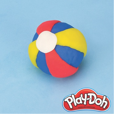PlayDoh beach ball