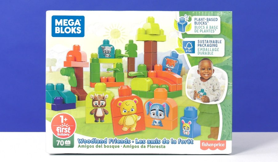 Mega Bloks Woodland Friends Review