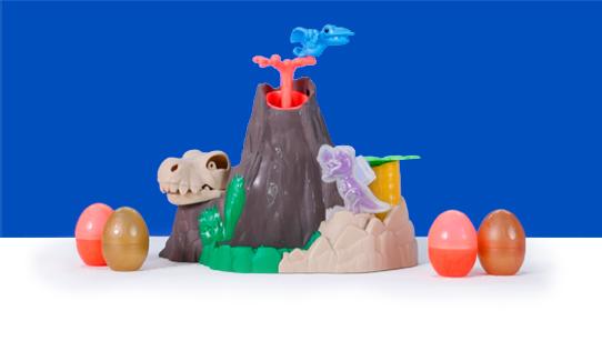 Play-Doh Dino Crew Lava Bones Island Review