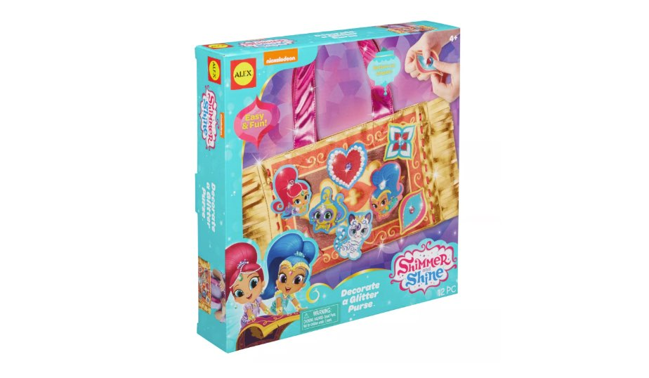Shimmer and Shine Decorate a Glitter Purse — Alex Toys