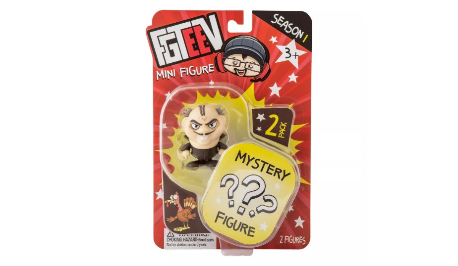 FGTeeV Mystery Figure Two Pack – Bonkers Toy Co.