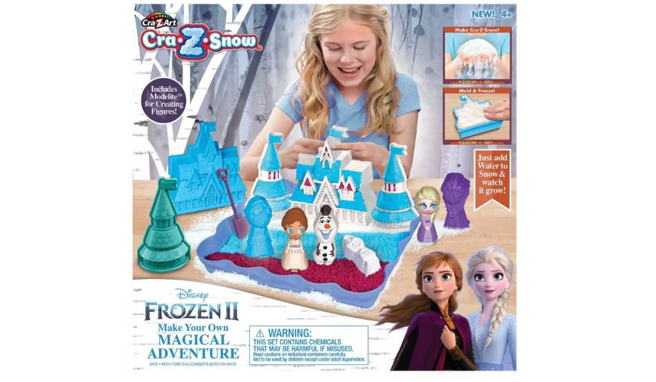 Disney Frozen 2 Make Your Own Magical Adventure Craft Activity Set by Cra-Z-Art