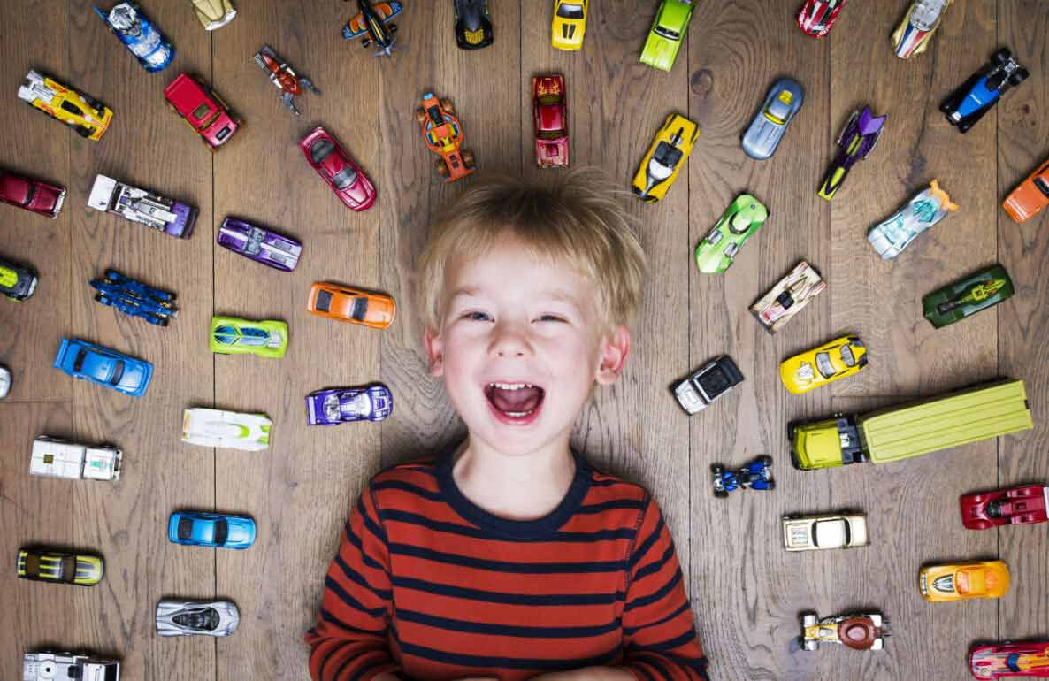 jumpstart play with Hot Wheels toys