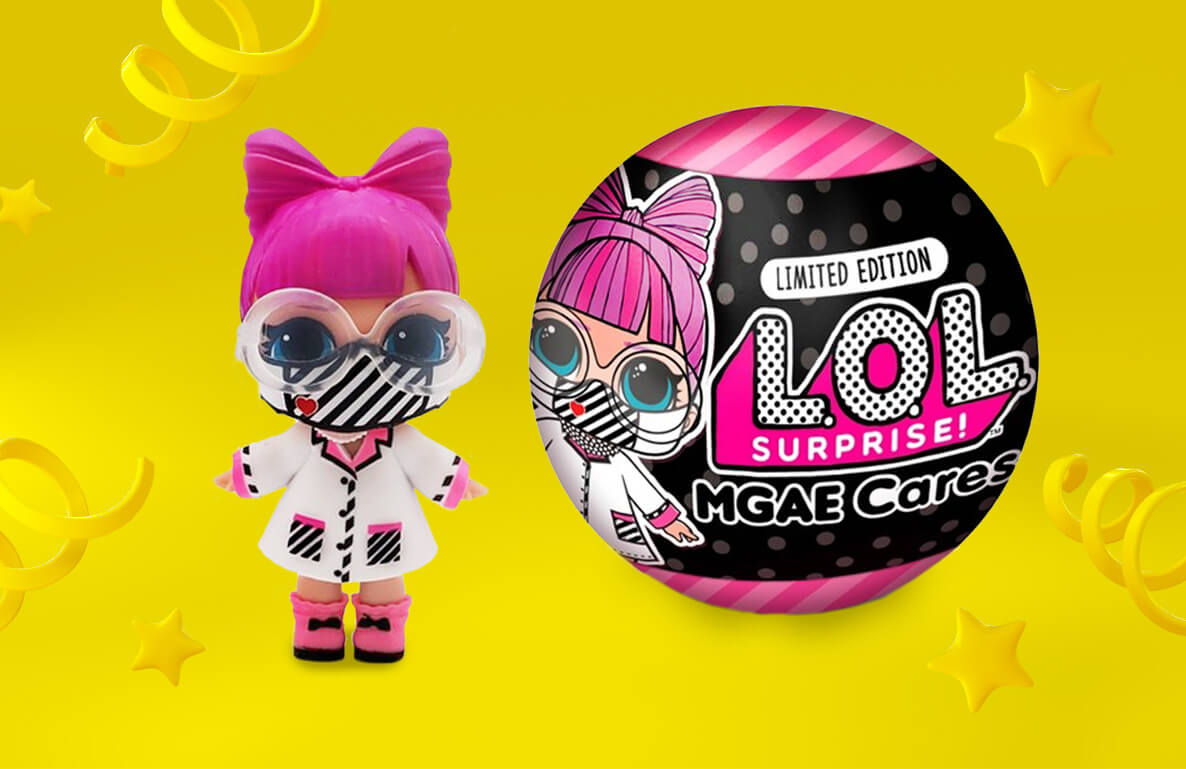 L.O.L. Surprise! x MGAE Cares Limited Edition Frontline Hero
