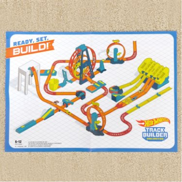 compatible with other Hot Wheels Track Builder playsets