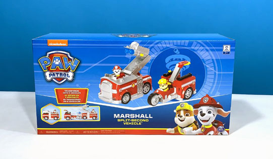 PAW Patrol Transforming Fire Truck Review