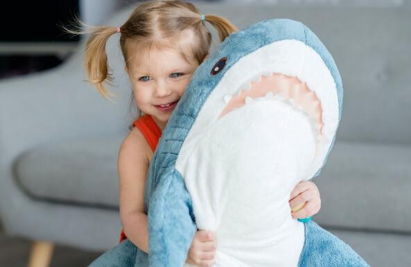 chomp on these shark themed toys