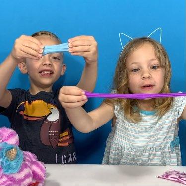 rainbocorns wild heart series 3 glittery slime stuffed animal toy for kids