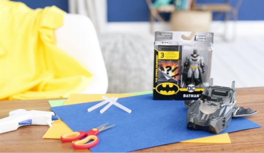 make your own no sew superhero cape