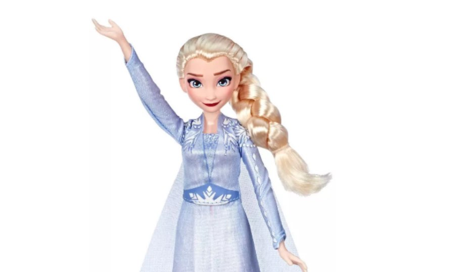 Disney Frozen 2 Singing Elsa Fashion Doll with Music by Hasbro