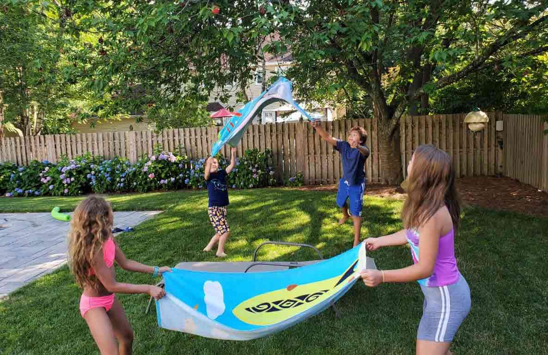sky-high water balloon challenge diy