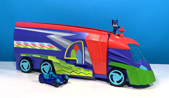 PJ Masks Transforming 2 in 1 Mobile HQ toy review