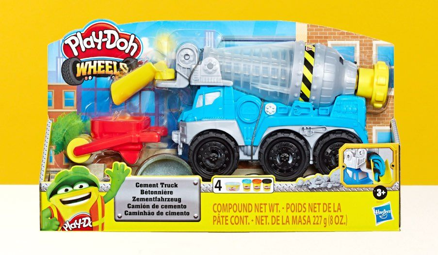 Play-Doh Wheels Cement Truck Review
