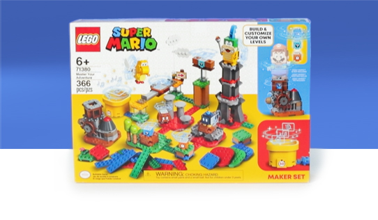 LEGO Super Mario Master Your Adventure Maker Kit Toy Review