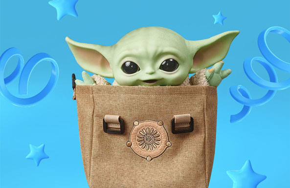 Star Wars The Child with Carrying Satchel