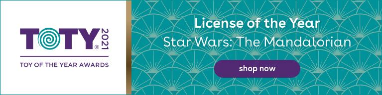 2021 TOTY License of the Year Award Winner: Star Wars The Mandalorian