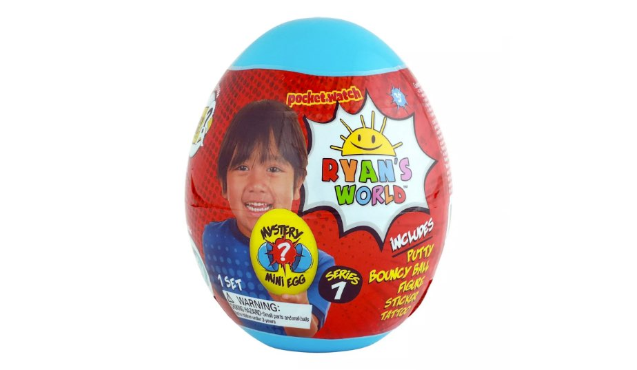 Ryan's World Mini Mystery Egg – Bonkers Toy Co.