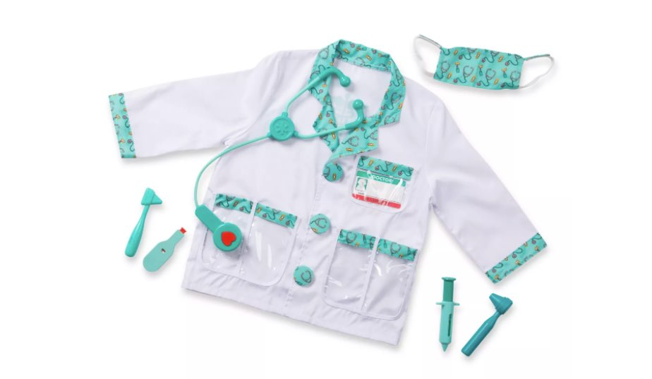 Doctor Role Play Costume — Melissa & Doug