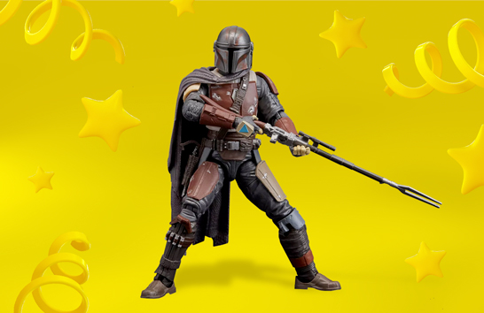 Star Wars The Black Series The Mandalorian Collectible Toy Action Figure