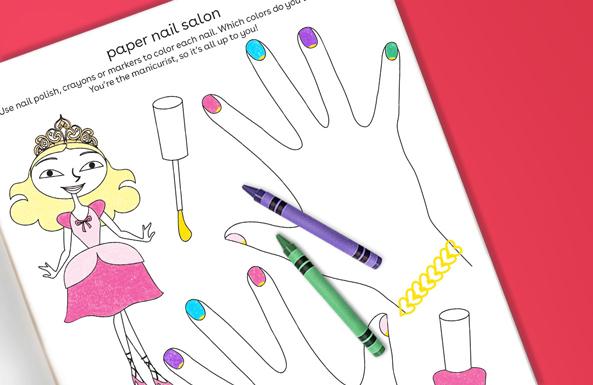 paper nail salon