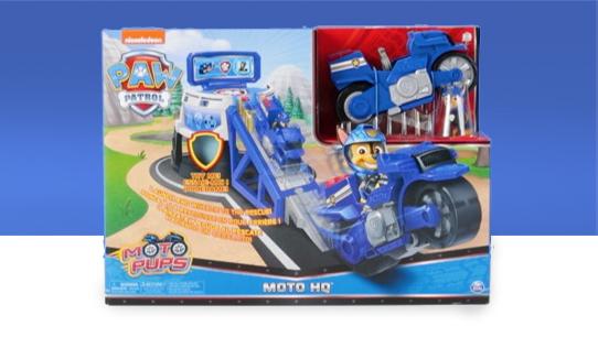 PAW Patrol Moto Pups Moto HQ Playset Toy Review