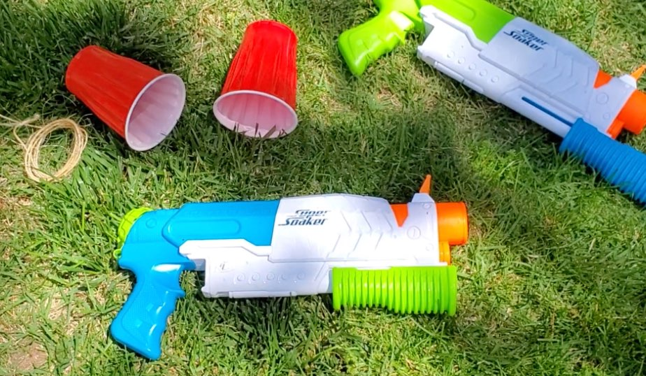 supplies for water blaster races do it yourself activity for kids
