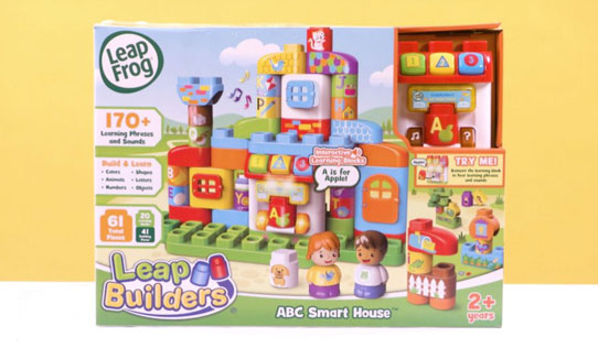 Leapbuilders ABC Smart House