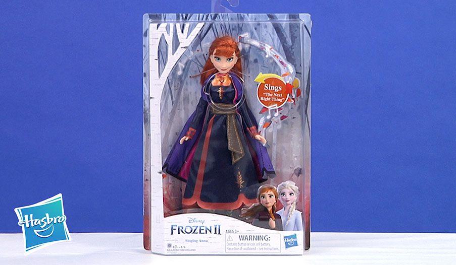 Disney Frozen 2 Singing Anna Fashion Doll