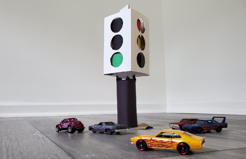 traffic light diy