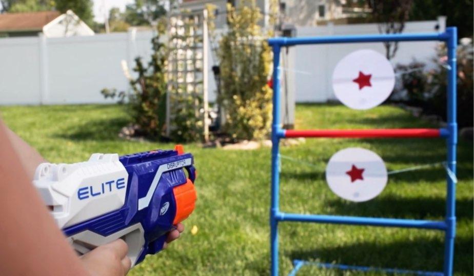 Nerf Target Practice DIY